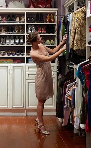 Closet Masters shelving solutions