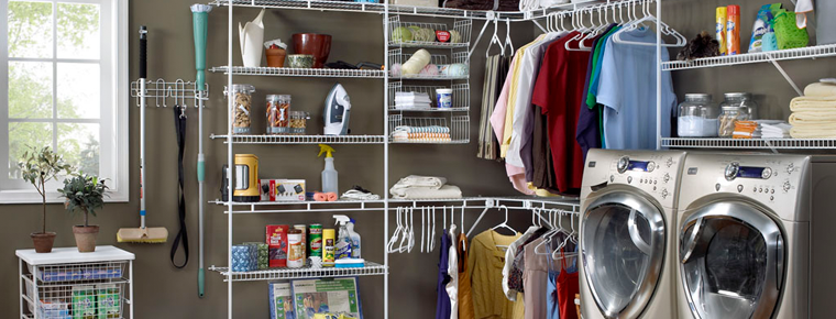 Laundry / Utility   Closet Masters