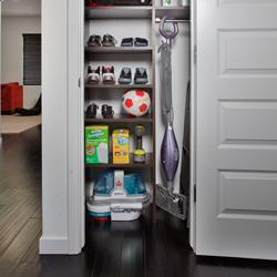 Utility Closet Storage Solutions