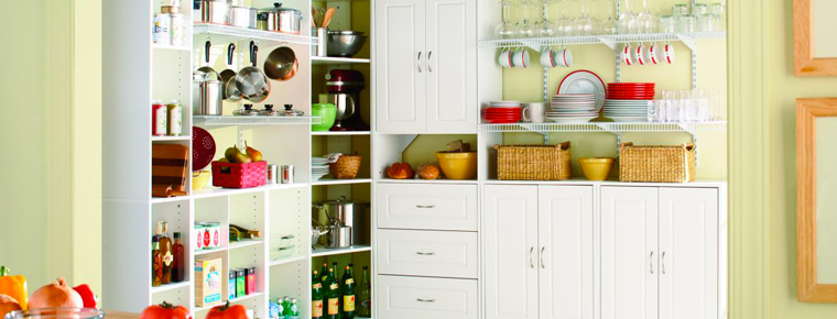 Kitchen Pantry Storage Solutions